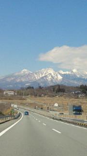今日の八ヶ岳