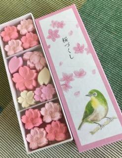 桜の干菓子